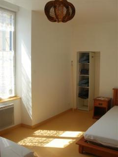 Chambre 2 lits simples au rez de chaussée