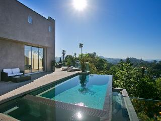 Diamond Hollywood Villa with Epic Infinity Pool and Sweeping Canyon Views