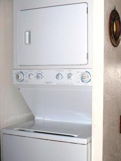 Stacker Washer Dryer in Unit for Convenience