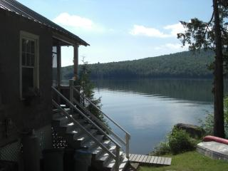 Silver Lake Cabin Lakefront in Adirondacks