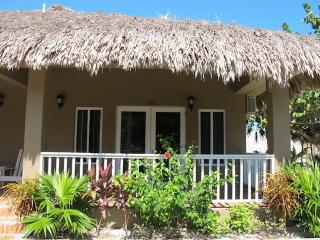 Our beautiful thatched roof cabana 13B, San Pedro