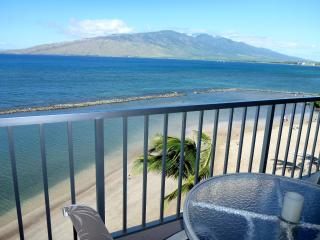 Menehune Shores, 612, oceanfront, all remodeled.