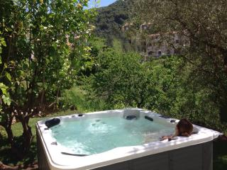 Little Azzedda a Corsican Cottage for 2 with outdoor hot tub