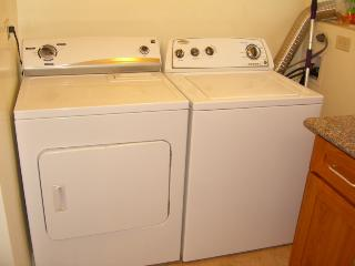 washer and dryer in the apt