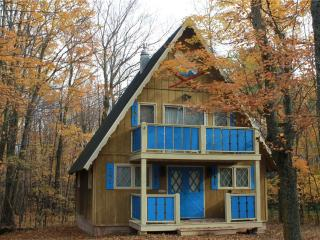 Located at Base of Powderhorn Mtn in the Western Upper Peninsula, A Charming Home in a Wooded Setting, Ironwood