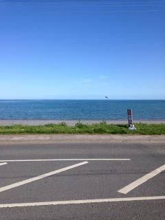 Another view looking onto the Irish Sea.