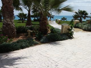 Cette propriété est carrément posée sur la plage, Hammamet