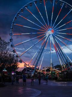 Sky Wheel At Beale Island