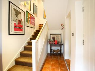 Entrance Hall with our range of local attraction leaflets.