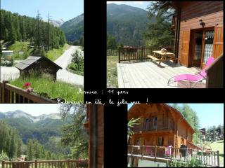 Chalet Arnica, 3 chs, terrasse sud, pied pistes