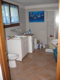 basement, bathroom