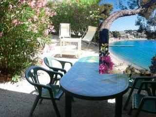 BANDOL (Var) appart T3 4/6 pers jardin & terrasse, proche plage centre gare