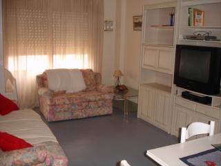 Apartamento de 1 dorm. con vistas al mar y piscina, Roquetas de Mar