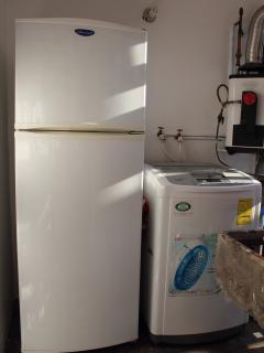 Refrigerador y la lavadora