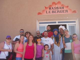 Kasbah du Berger, to the delight of the DUNES, Merzouga