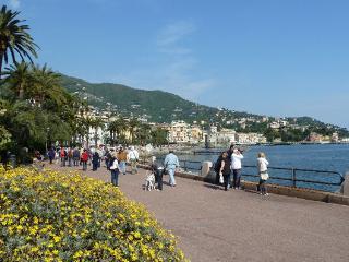the Seaside in Rapallo