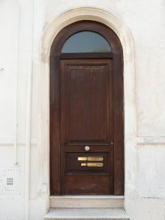 the doorway