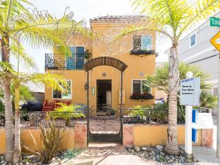 Spanish Style Single Family Home - 100 Feet to Beach!