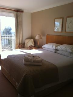 Master bedroom with juliette balcony - lovely views