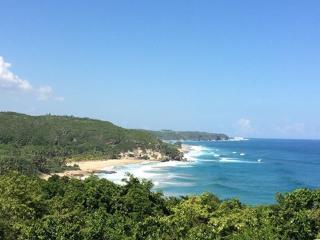 Quebradillas looking west at Isabela and Guajataca Beach and Tunnel
