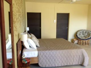 King sized orthopedic beds Housekeeping cleans our stylish studios 3 times per week