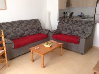 Apartamento de Condado de Alhama, 3 cama/Sleeps 5 + 1, Alhama de Murcia