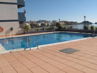 Holiday Apartment San Cristobal Playa Almunecar with all day sunny balcony views