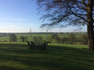 Relax and enjoy the view in the extensive grounds at North Down