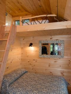 Bedroom #3 with Double Bed and Single Bed Loft
