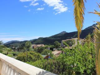Terrasse vue sur L'Esterel