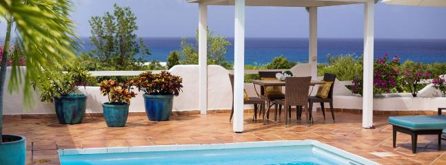Villa La Magnolia SPECIAL OFFER: St. Martin Villa 77 Lying On The Ridge Of A Gentle Hill, Surrounded By Tropical Gardens And Allowing Spectacular Views South West Over The Caribbean Sea., Terres Basses