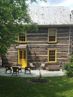 Historic Thaddeus Stevens' Gettysburg Log Cabin