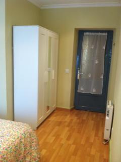 Habitación nº 1. Foto tomada desde la ventana.