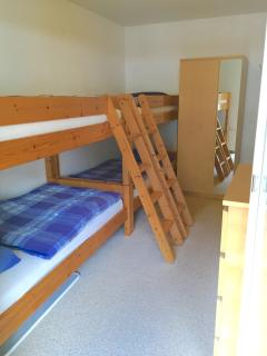 First Floor Bedroom 4x Full-size Bunks for Adults and Kids alike