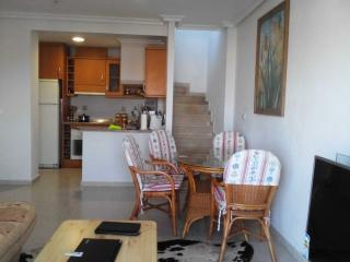 Penthouse close to beach with large roof terrace, Cabo Roig