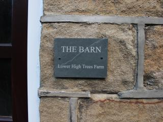 The Barn at Lower High Trees Farm