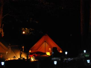 Kinda Kamping Bell Tent Glamping with heated pool, Mialet
