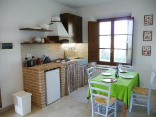 Albegna, kitchen corner/living room