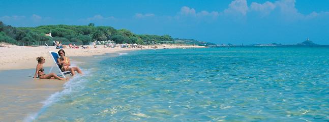 La spiaggia di Santa Margherita di Pula