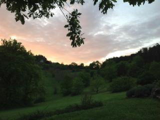 Sunset over the hidden valley.