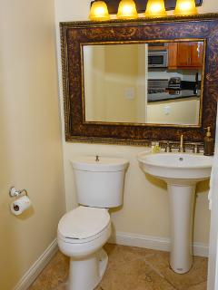 1/2 bath included with 1 Bedroom Suite and Fully Appointed Suite