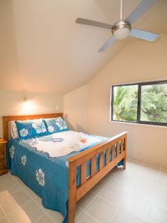 1st Upstairs bedroom 1 x queen bed
