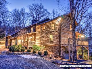 Rustic & Unique! Expansive 5BR/4BA Cabin on Private, Wooded Acreage Only