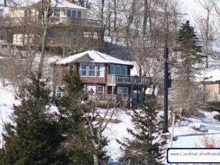 4BR Ski Cabin on the Slopes, Endless Views, Gas Log Fireplace, Ski In Ski Out