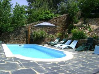 Bela Vista, slate stone house with private pool, Arganil