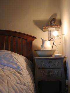 Master Bedroom. vintage drawer detail