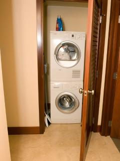 In-suite Laundy
