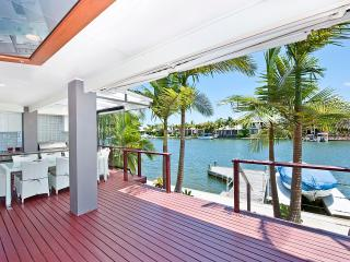 NOOSA  Waterfront Retreat.  Right on the water's edge.