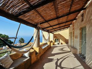 Filicudi elegant villa in the Aeolian Islands