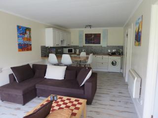 Villa with private beach